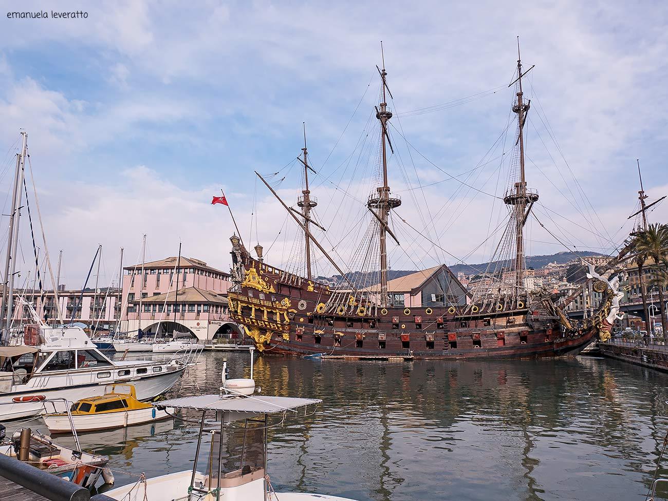 galeone neptune-porto antico di Genova (4)