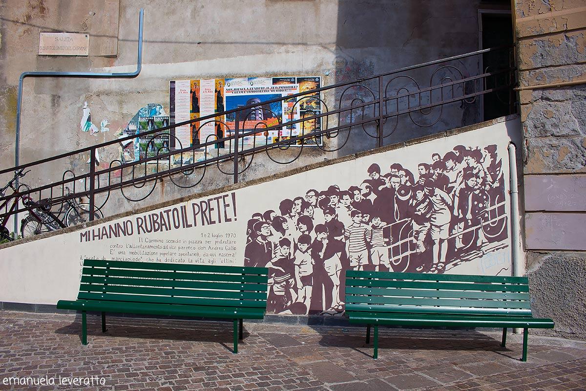 poesia don Gallo Quartiere del Carmine