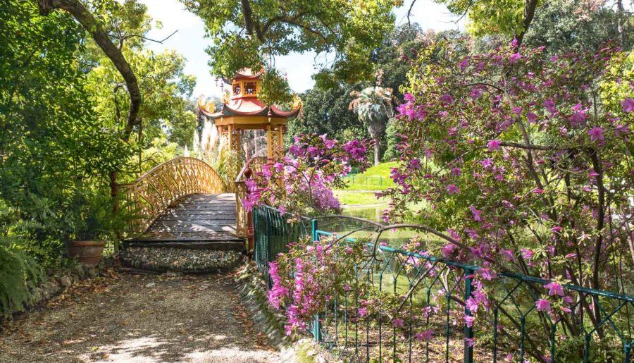Villa Durazzo Pallavicini: itinerario per immagini