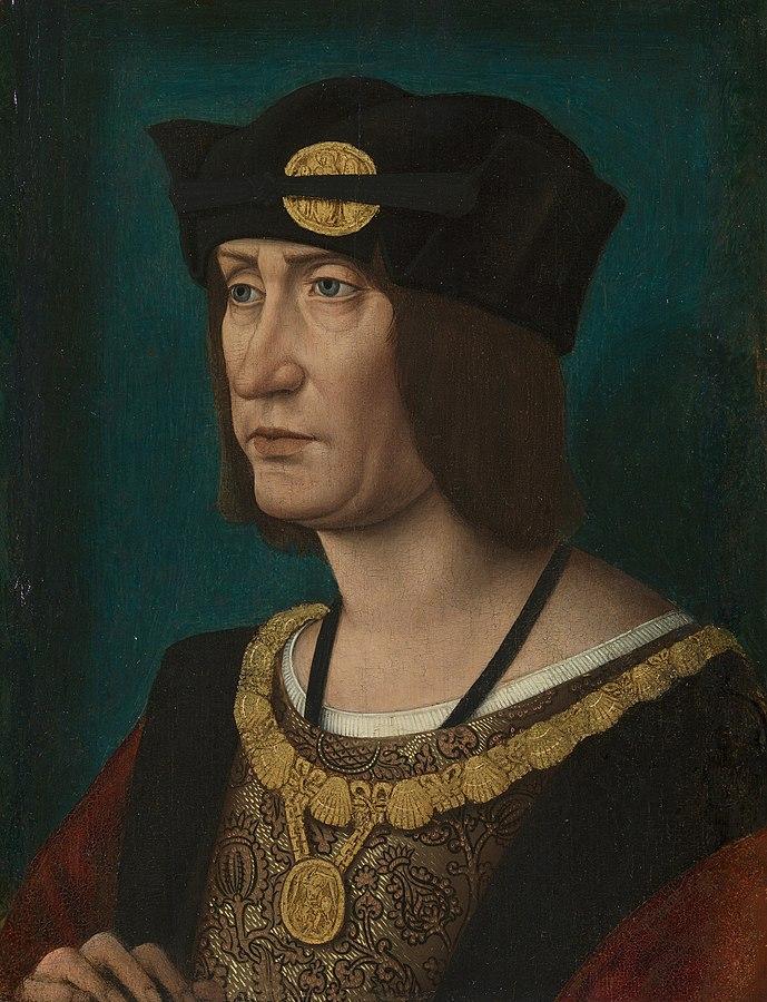 Luigi XII re di Francia-Piazza Amor Perfetto.