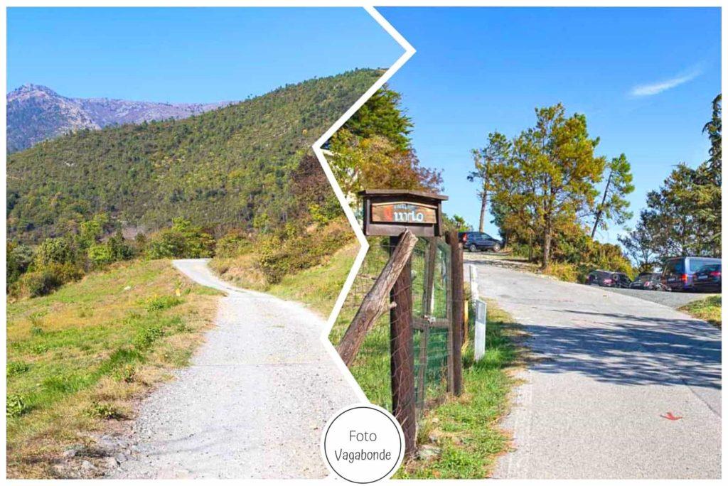 parcheggio Area Picnic Pian del Curlo