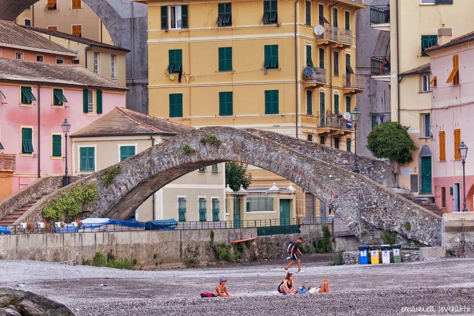 ponte romano bogliasco